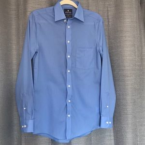 Stafford Travel Easy-Care Mens Dress Shirt